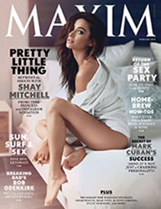 Founded in 1995 Maxim is an international men's magazine originating from the United Kingdom and is known for its revealing pictorials featuring popular actresses, singers, and female models, none of which are nudes.