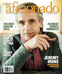 Cigar Aficionado offers the most extensive database of cigar reviews and ratings as well as the latest news on cigars, the cigar industry and Cuba; plus reviews, articles and photos on topics that encompass the Good Life: gambling, golf, cigar bars, lighters, cutters, ashtrays, beer, spirits and wine.
