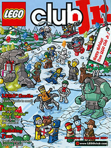 An easy-to-read and fully-illustrated magazine full of fun, LEGO Club Jr. is a version of LEGO Club Magazine intended for subscribers of four years or younger.