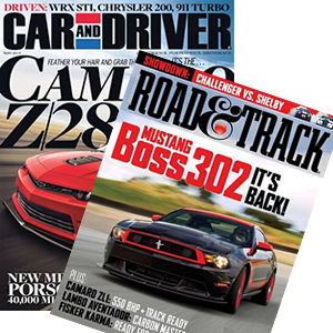 Automotive periodicals dedicated to providing articles and features about the most cutting-edge car information.