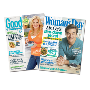 COMBO SET! Two Magazines for one low price!