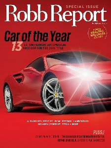 Robb Report is the international authority on the luxury lifestyle. In its digital and print forms, the brand offers affluent connoisseurs insights and detailed information designed to assist them in selecting only the most exceptional products and services in markets around the globe. Categories of coverage include automobiles, motorcycles, yachts, aircraft, art, fine dining, jewelry, watches, fashion, travel, homes, wines, spirits, cigars, and health and wellness.